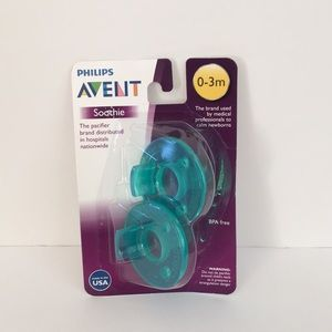 AVENT pacifier 0-3m brand new in package soothie